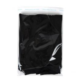 """9 1/4"""" x 12 1/4"""" + Flap, Crystal Clear Bags® (100 Pieces) [B9SM]"""