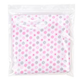 "8 1/2"" x 8 1/2"" Crystal Clear Zip Bags + Round Hang Hole 2 mil (100 Pieces) [ZR8H]"