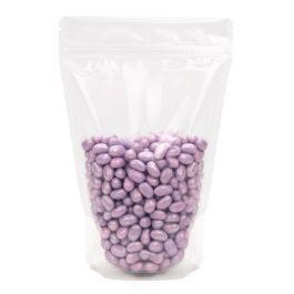 "5 7/8"" x 3 1/2"" x 9 1/8"" (Outer Dimensions) Clear Zipper Pouch Gusset Bag (100 Pieces) [ZBG7]"