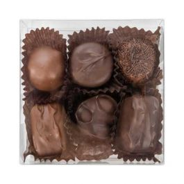 """4 1/4"""" x 1 5/8"""" x 4 1/4"""" Truffle Box with Insert (100 Pieces) [CNDY194]"""