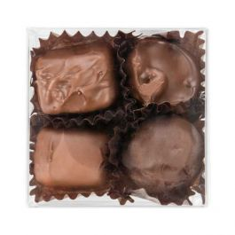 "2 3/4"" x 1 7/16"" x 2 3/4"" Chocolate Box with Insert (100 Pieces) [CNDY227]"