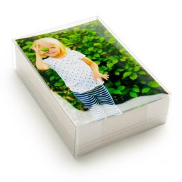 "4 1/8"" x 2"" x 6 1/8"" Crystal Clear Boxes® (25 Pieces) [FPB325]"