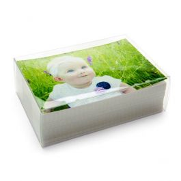 "5 1/8"" x 2"" x 7 1/8"" Crystal Clear Boxes® (25 Pieces) [FPB326]"