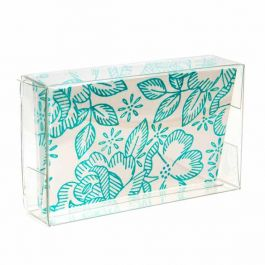 "2 1/8"" x 13/16"" x 3 5/8"" Crystal Clear Boxes® (25 Pieces) [FPB36]"