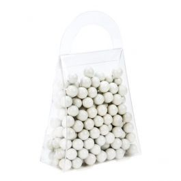 "3 1/2"" x 1 1/2"" x 4"" Purse Food Safe Box (25 Pieces) [FS210]"