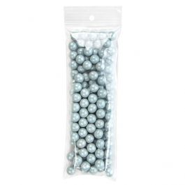 "2 1/2"" x 7"" Crystal Clear Zip +  Round Hang Hole, 2 mil (100 Pieces) [ZR2H7]"