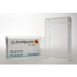 "2 1/4"" x 5/8"" x 3 11/16"" Crystal Clear Boxes® (25 Pieces) [FB95]"