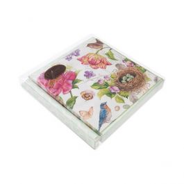 "7 1/8"" x 1"" x 7 1/16"" Crystal Clear Boxes® (25 Pieces) [FB70]"