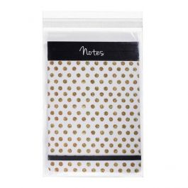 "6 3/16"" x 9"" + Flap, Crystal Clear Bags® (100 Pieces) [B69S]"
