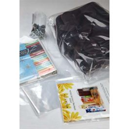 "2"" x 3"" LDPE-Plain Opened Bags, 2 mil (100 Pieces) [PE223]"