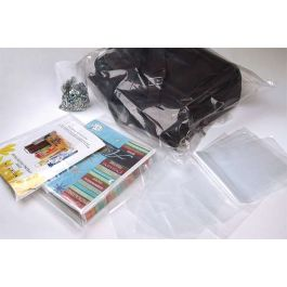 "13"" x 17"" LDPE-Plain Opened Bags, 1.5 mil (100 Pieces) [PE1H1317]"