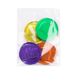 "3"" x 4"" Polypropylene Flat Bag, Side Seal, 1 Mil (100 Pieces) [FP134]"
