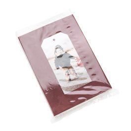 """6"""" x 8"""" Polypropylene Flat Bag, Bottom Seal, 1 mil (100 Pieces) [FP168]"""