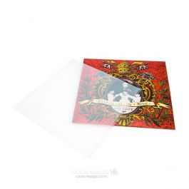 "10 1/8"" x 10"" + 1/8"" + Lip, Frosted Inner Album Sleeves (100 Pieces) [BLPF10]"
