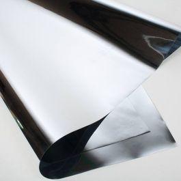 """18"""" x 30"""" Pewter Metallic Gift Wrap (10 Pieces) [FW1]"""