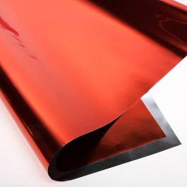 "18"" x 32"" Red Metallic Gift Wrap (10 Pieces) [FW1R]"