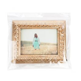 "11 5/8"" x 9 1/2"" + Flap, Crystal Clear Hanging Bag (100 Pieces) [HB119H]"