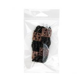 """3 5/16"""" x 5 1/8"""" + Flap, Crystal Clear Hanging Bag (100 Pieces) [HB3]"""