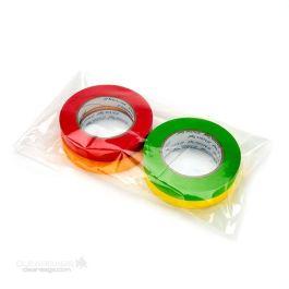 """7"""" x 16"""" Polyethylene Heavy Duty Flat Bags, 3 mil (250 Pieces) [TFB3716]"""