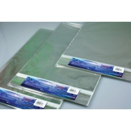 "20 7/16"" x 24 1/4"" Crystal Clear Protective Closure Bags Retail Pack of 25 (1 Pack) [RPA20X24]"