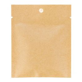 "3"" x 4"" Kraft Heat Seal Bags, Matte (100 Pieces) [KHS34M]"