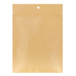 "4"" x 6"" Kraft Heat Seal Bags, Matte (100 Pieces) [KHS46M]"