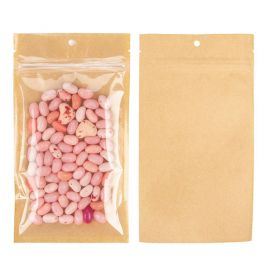 "4"" x 6 1/2"" Kraft Backed Hanging Barrier Bags w/Tear Notches (100 Pieces) [HZB5KC]"