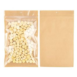 "6"" x 9 1/4"" Kraft Backed Hanging Barrier Bags w/Tear Notches (100 Pieces) [HZB7KC]"
