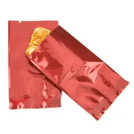 "2"" x 3"" Red Metallized Heat Seal Bags (100 Pieces) [SMB23R]"