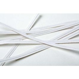 """6"""" x 5/32"""" White Paper Twist Tie (1000 pack) [TT6WH]"""