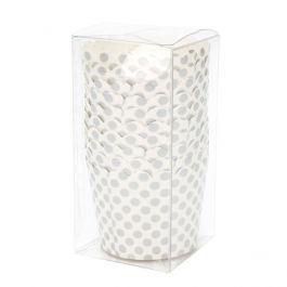 """2 1/16"""" x 2 1/16"""" x 4 1/8"""" Crystal Clear Pop & Lock Boxes (25 Pieces) [PLB335]"""