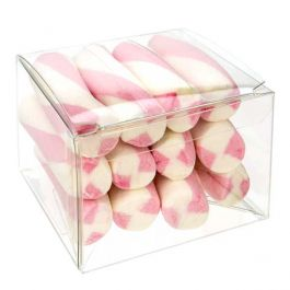 "3 1/2"" x 3 1/4"" x 2 3/8"" Crystal Clear Boxes® Pop & Lock (25 Pieces) [PLB115]"