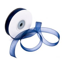 "5/8"" x 75' Navy Mono Ribbon (1 Piece) [RIBNVY]"