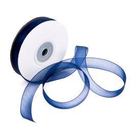 """5/8"""" x 75' Navy Mono Ribbon (1 Piece) [RIBNVY]"""