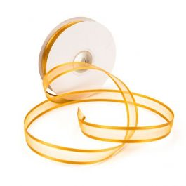 "5/8"" x 75' Old Gold Satin Edge Ribbon (1 Piece) [RIBSEOGD]"