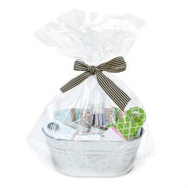 "18"" x 24"" Round Bottom Basket Bag, 1.2 Mil (100 Pieces) [RB1824]"