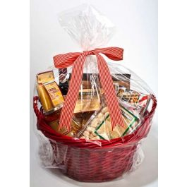 "24"" x 30"" Round Bottom Basket Bag, 1.2 Mil (100 Pieces) [RB2430]"