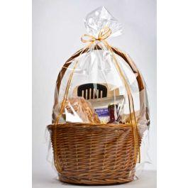 "18"" x 24"" Round Bottom Basket Bag, 1.2 Mil (100 Pieces) [RB1824]"