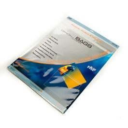 "16 7/16"" x 20 1/8"" Crystal Clear Protective Closure Bags Retail Pack of 25 (1 Pack) [RPA16X20]"