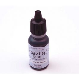 Timber Brown StazOn Ink Pad Refill [SZ41INK]