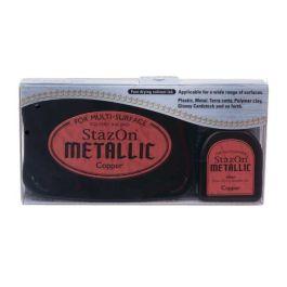 Metallic Copper StazOn Ink Pad and Refill (1 Piece) [SZ193]