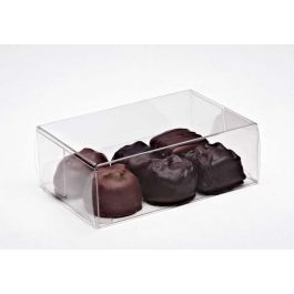 "2 3/4"" x 1 7/16"" x 4 1/8"" Chocolate Box (25 Pieces) [FPB229]"