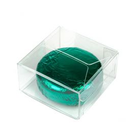 "2"" x 2"" x 1"" Crystal Clear Value Boxes (50 Pieces) [VB295]"