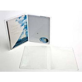 "7 5/8"" x 11 5/8"" Vinyl Wallets for A7 (100 Pieces) [VINA7]"
