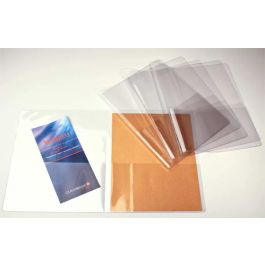 "9 3/8"" x 11 5/8"" Clear Vinyl Presentation Folder (5 Pieces) [VINPF] - CLEARANCE"