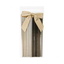 """4"""" X 8"""" Crystal Clear Zip Bags + Vent, 2 mil (100 Pieces) [ZC48V]"""