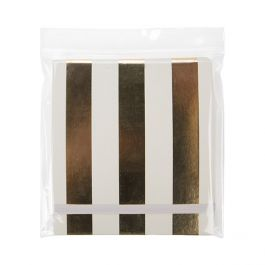 "5"" x 5"" Crystal Clear Zip Bags + Vent, 2 mil (100 Pieces) [ZC55V]"