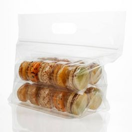 Macaron Zip Handle Bag Set for 20 (100 Sets) [MBG7]