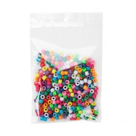 "5"" x 7"" Crystal Clear Zip Bags +  Round Hang Hole, 2 mil (100 Pieces) [ZR57]"