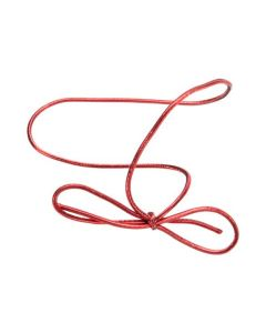 Metallic red stretch loop
